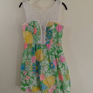 Lilly Pulitzer Raegan fit & flare dress Size 2